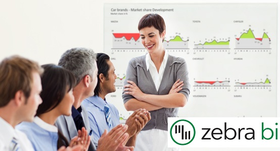 Zebra BI - poročanje v Excelu